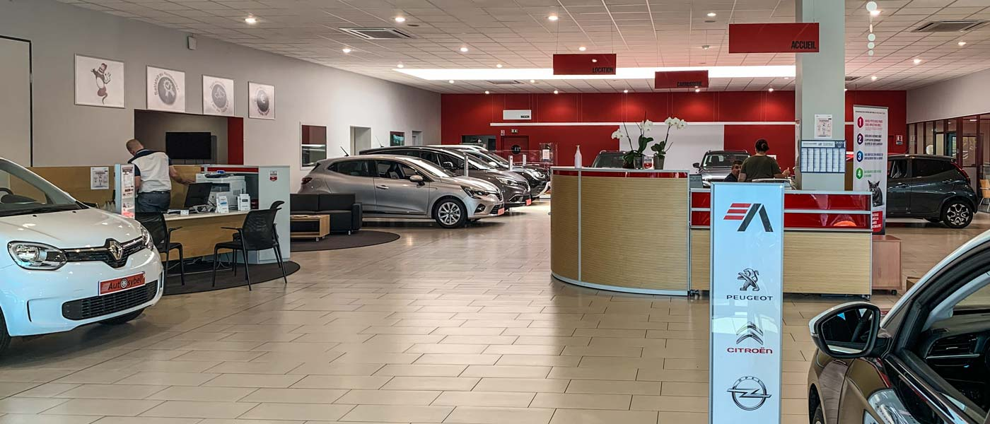 showroom concession Autosybel Bassussarry