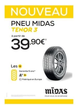 Midas pneu Tenor 3